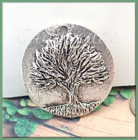 Rustic Green Girl Studios Tree of Knowledge Pendant