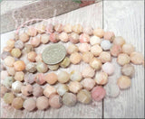 24 Star Cut Opal Gemstone Beads 8mm SBGB106