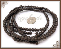1 Strand Brown Howlite Gemstone Beads 4mm, SBGB2