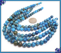 Blue Crazy Lace Agate Beads, 6mm Crazy Lace Agate Gemstones, Blue Agate, SBGB43