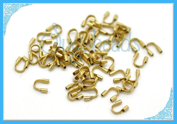 50 Wire Guardians - Brass Wire Guards 4mm