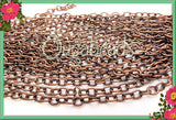 32 Feet Bulk Copper Tone Cable Chain - Copper Tone Chain 32ft or 10 Meters CTC2