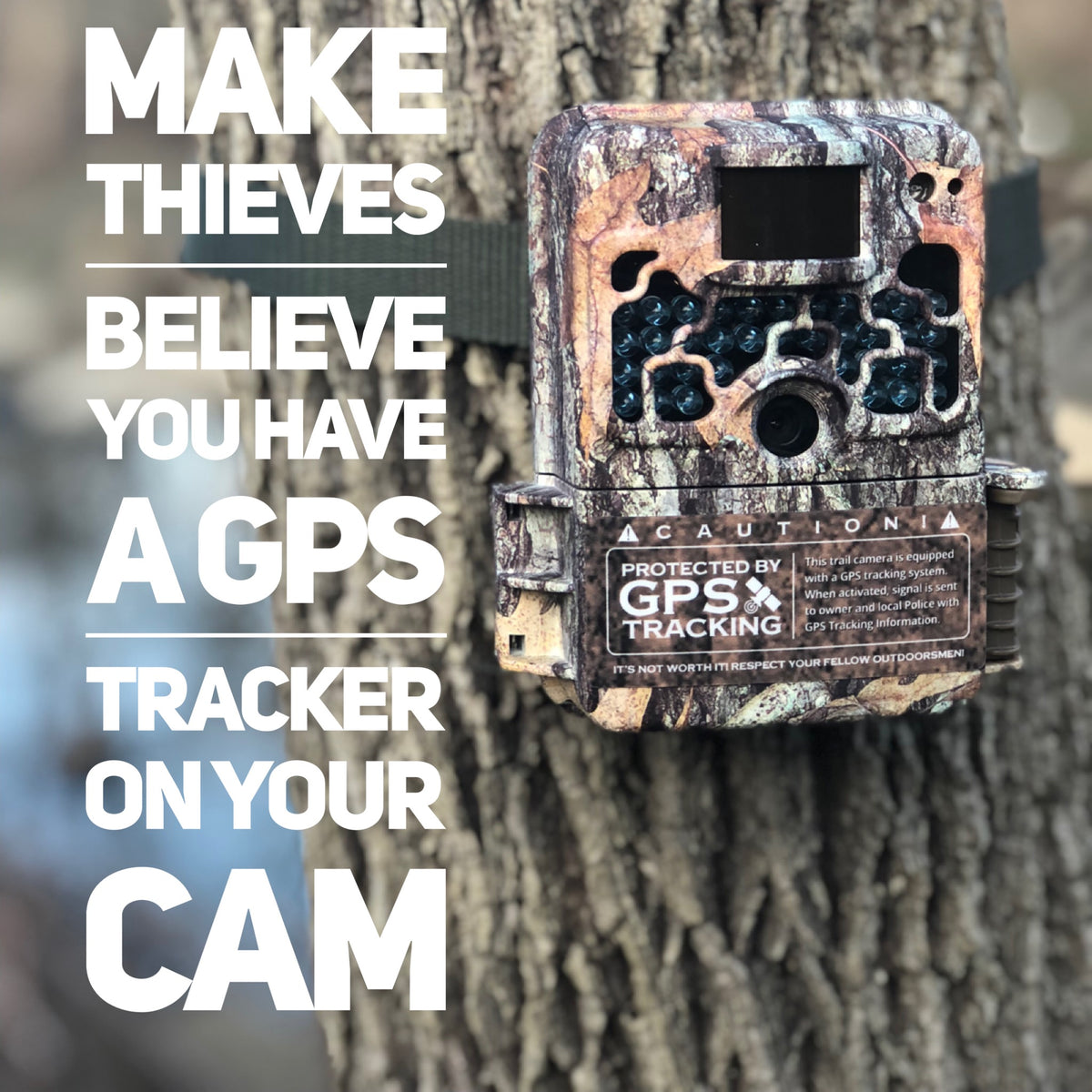 Trail camera theft prevention