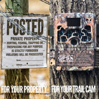 Theft prevention device for trail cameras