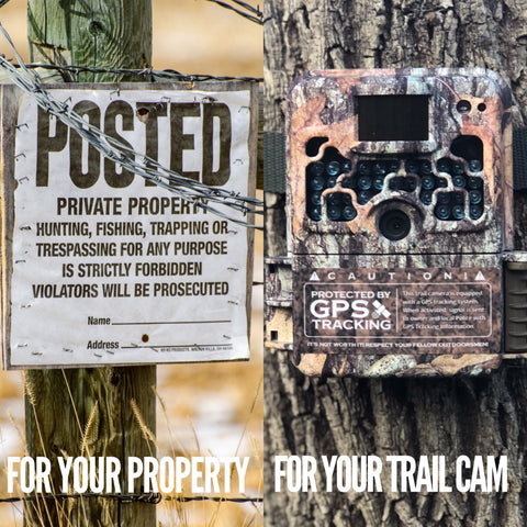 How to stop trail camera theft