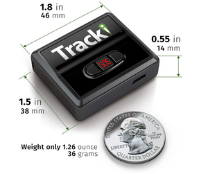 Theft Stopper Bundle |  Tracki GPS Tracker & 5 Pack of TrailCam SHIELDs