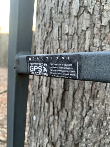TreeStand SHIELD-Sportsman's Shield - Prevent Tree Stand Theft