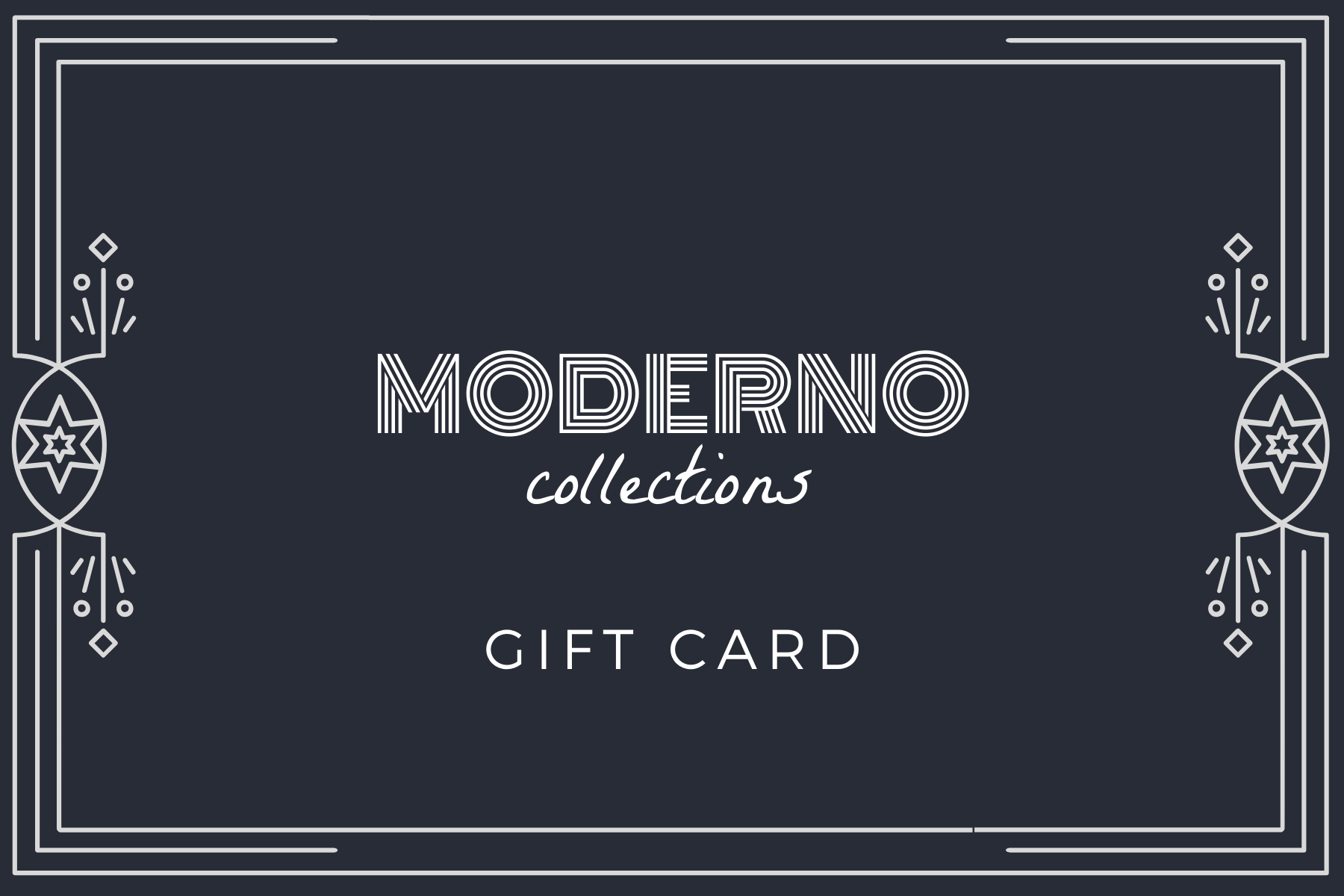 Gift Card - Moderno Collections