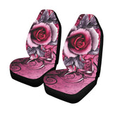 Pink Rose Car Seat Covers (Set of 2)