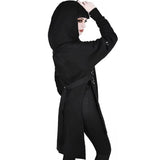 Gothic Long Hoodies Sexy Hooded
