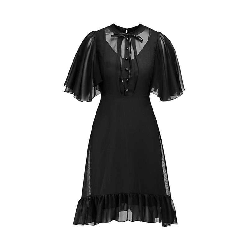 Party Sexy Dresses Black Vintage