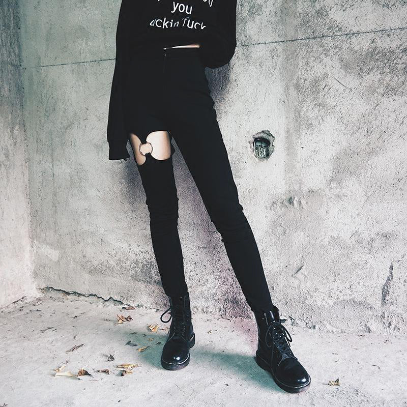 Pencil Pants Women Long Streetwear