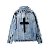Hip Hop Men Denim Jackets