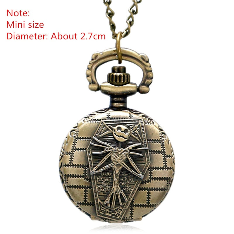 JK Quarzt Pocket Watch