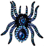 Spider Stretch Ring Scarf Clasp Halloween Party