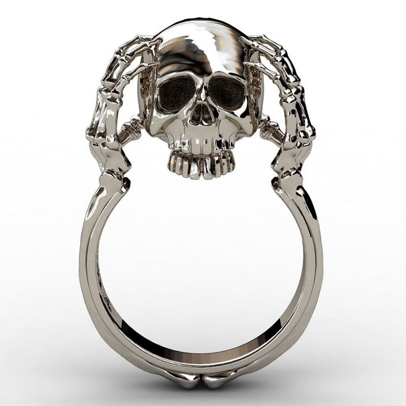 Claw Skull Ring Jewelry