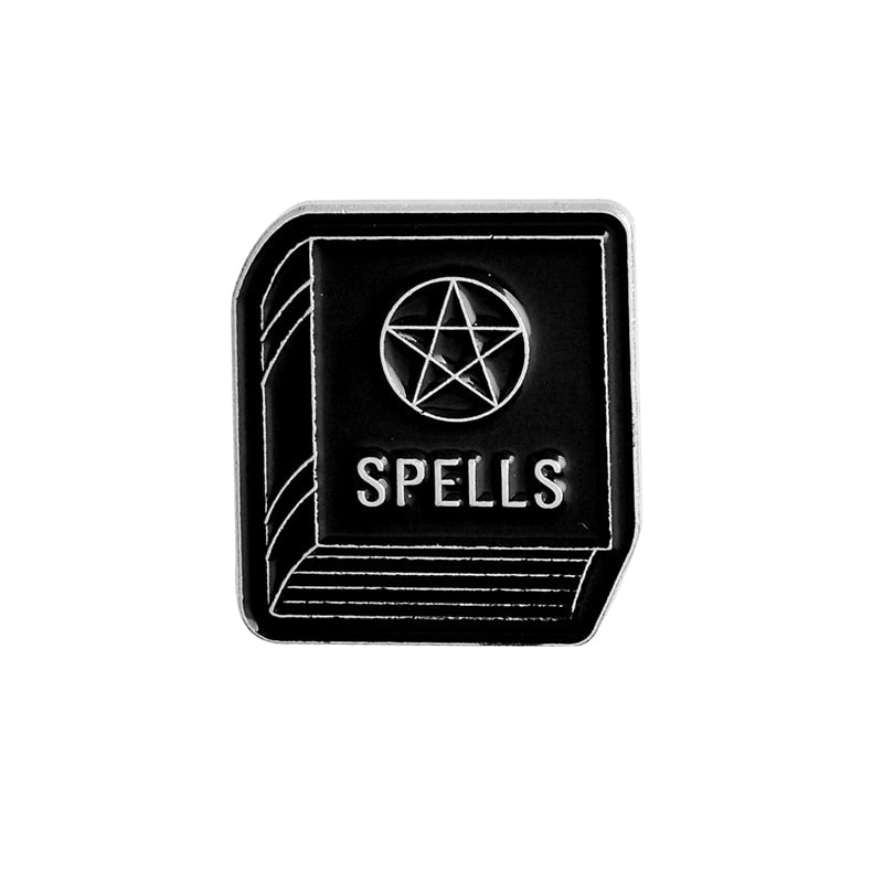 SET 11pcs of Witch Badges Brooches (PINS)