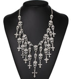 Skull Heads Necklace