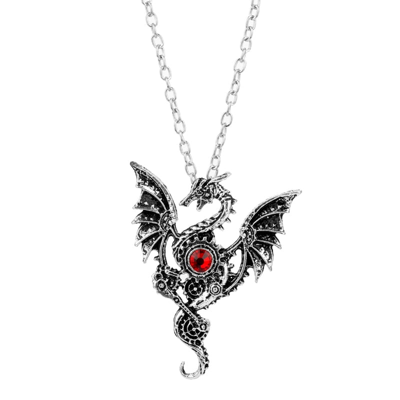 Dragon Pendant Necklace Men Jewelry