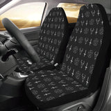 SATANIC SYMBOL Car Seat Covers (Set of 2)