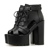 Boots Summer Open Toe Buckle Strap
