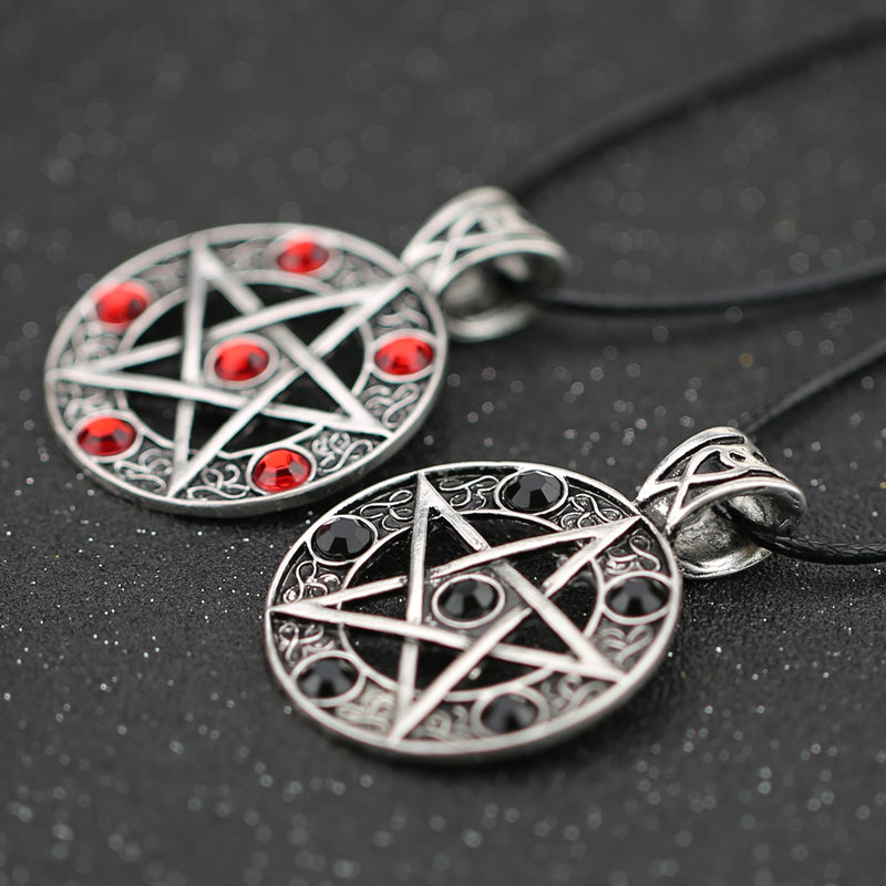 Necklace Pentagram Pentacle Five-Pointed Star
