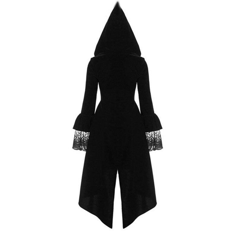 Witch Long Dress Hoodie