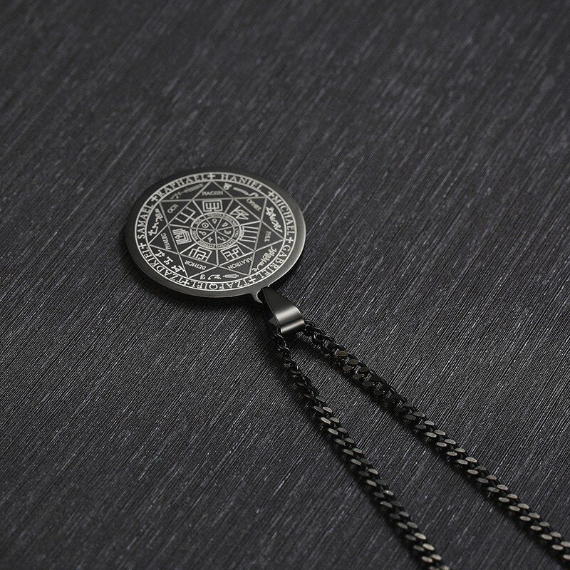 Necklace Magic Pendant Occult