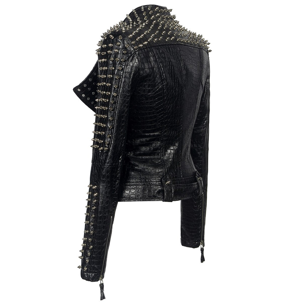 Punk Style Leather Jackets