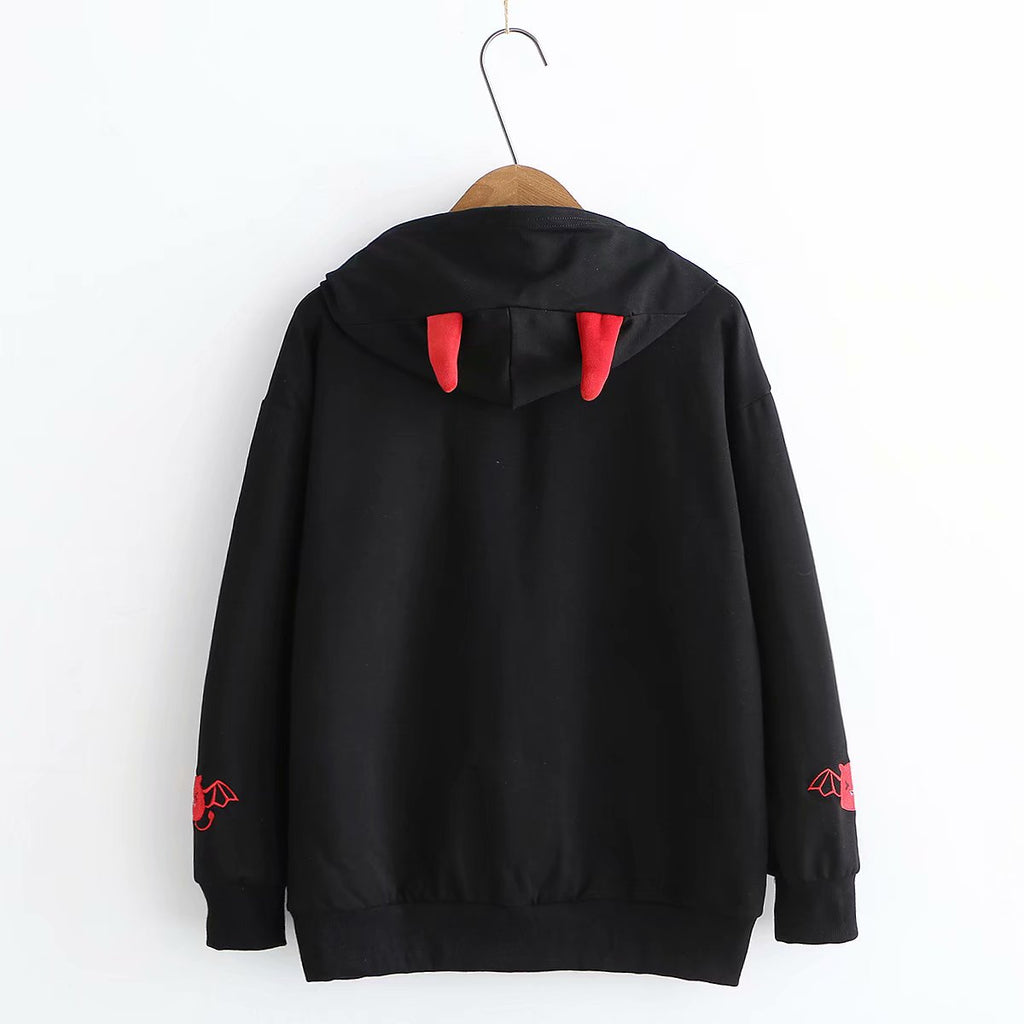 Hooded Sweatshirts Women Lolita