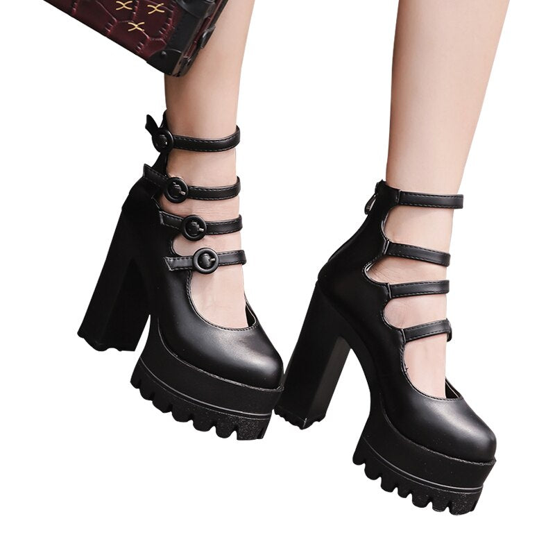 Pumps High Heels Black