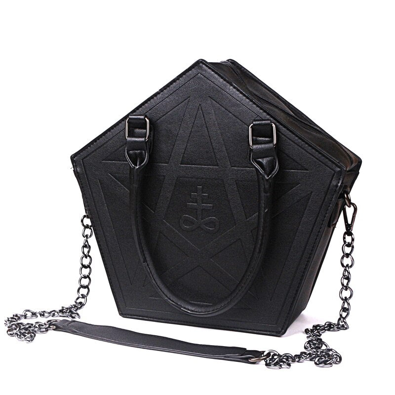 Punk Gothic Five Star Handbag