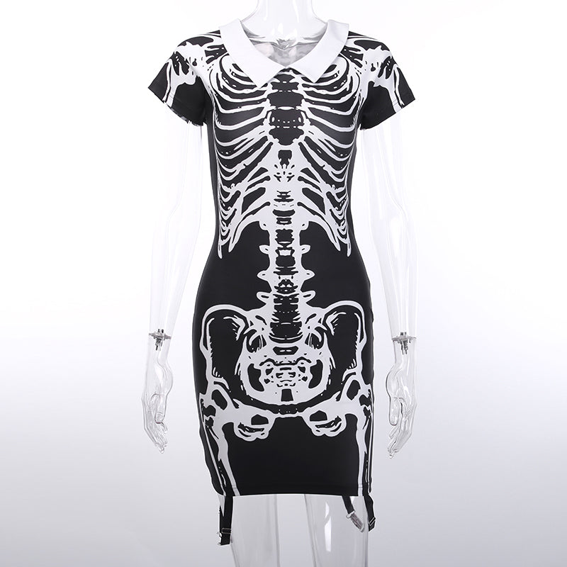 Halloween T-shirt Sexy Dress