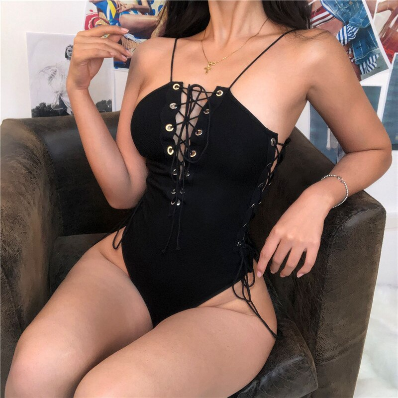 Swimsuit Halter One Piece Sexy