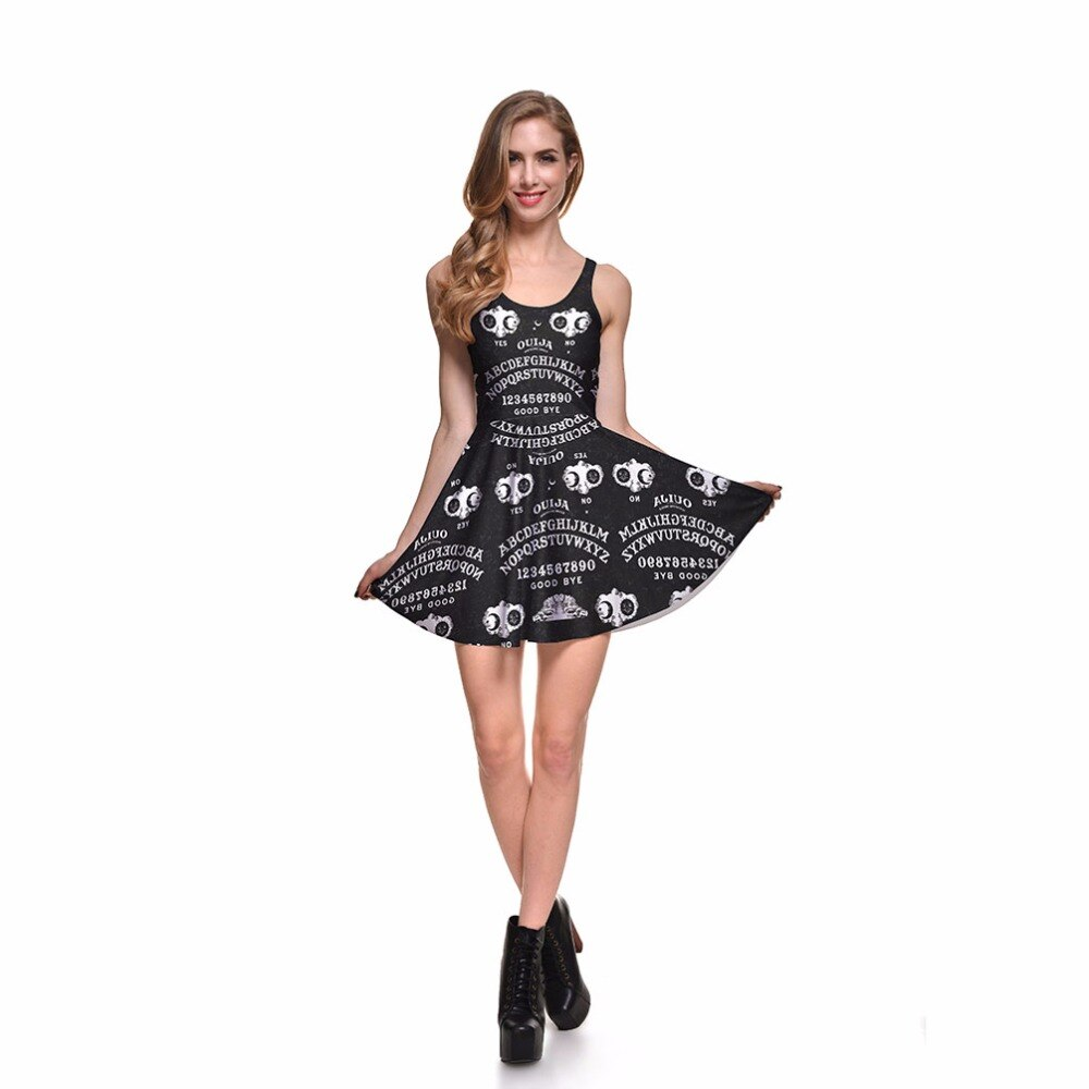 Sleeveless Skater Pleated Dress