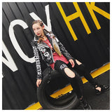 Street Women PU Leather Jacket
