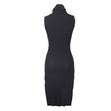 Gothic Dress Asymmetric Breif