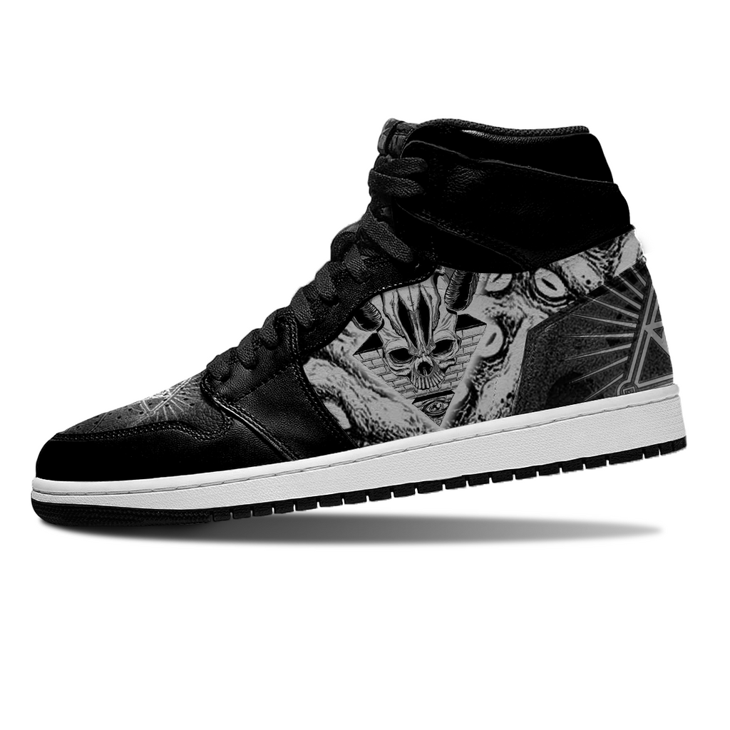 Jordan Sneakers - All Seeing Eye