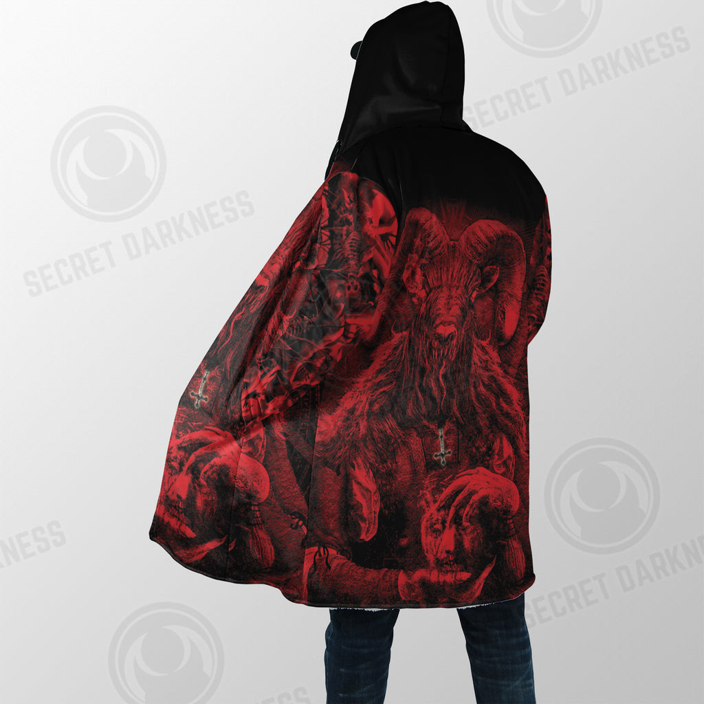 Satanic Rock Dream Coat - Plus Size Cloak (No Bag)