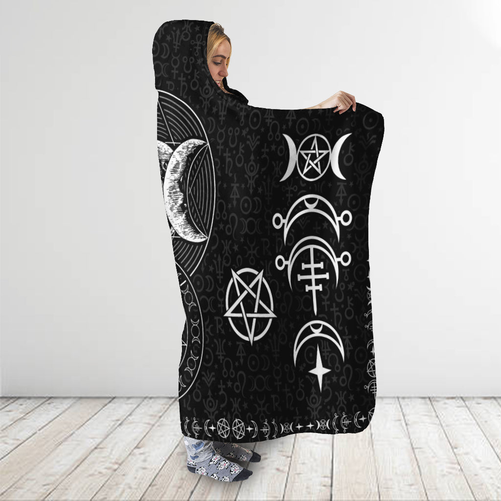 Triple Moon Hooded Blanket