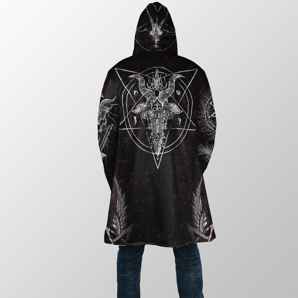 Satanic V2 Dream Coat - Plus Size Cloak (No Bag)