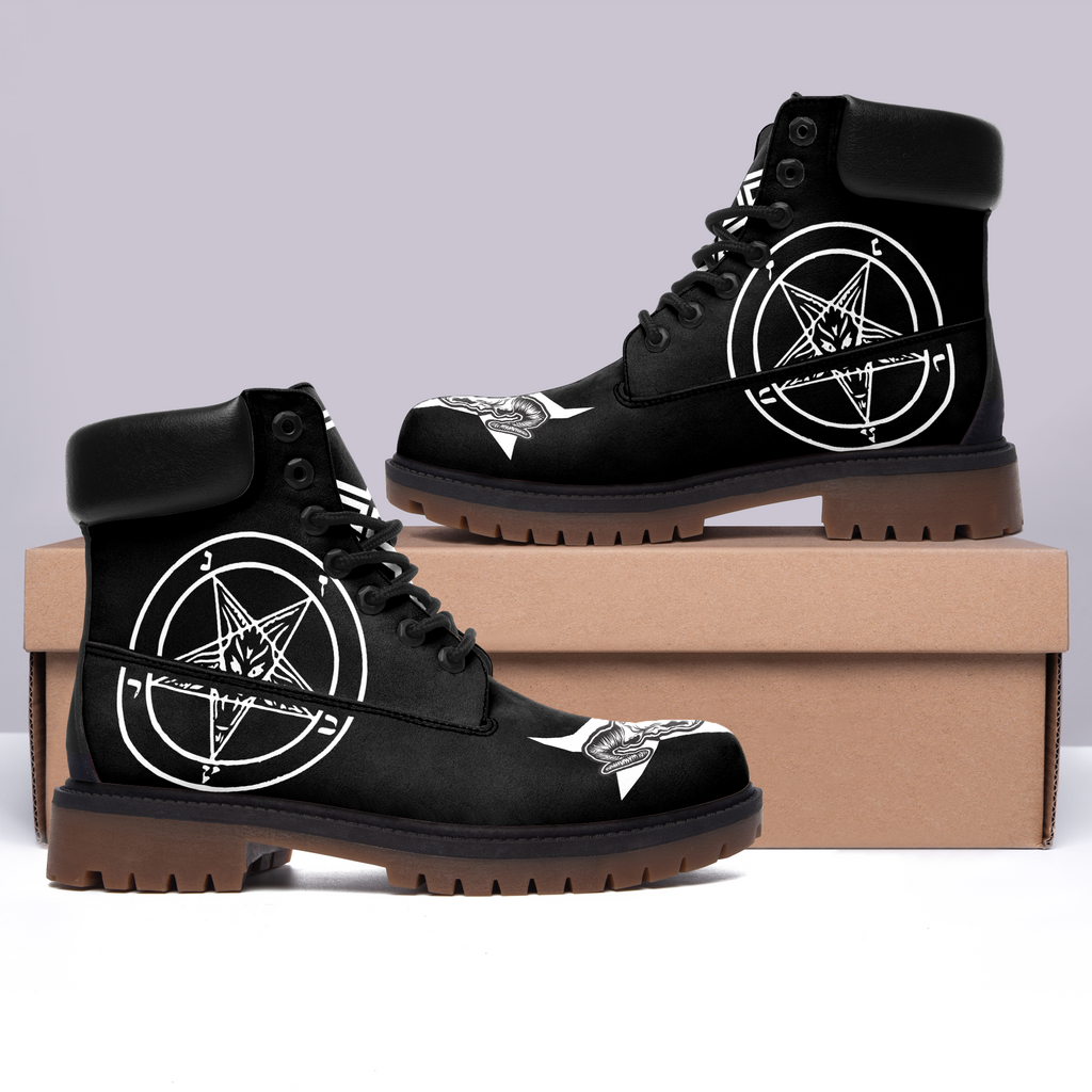 Satanic 3 Black All Season Boots (WOMEN)