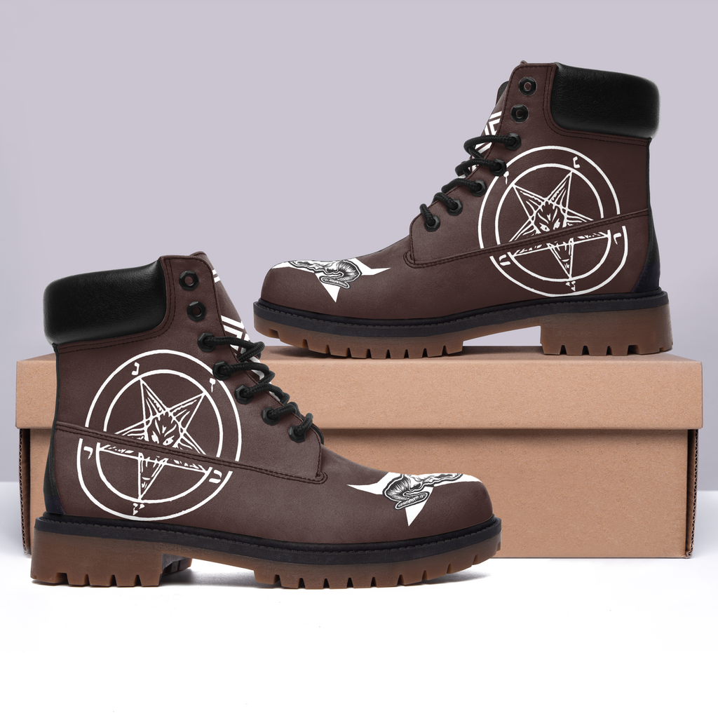 Satanic 3 Brown All Season Boots (MEN)