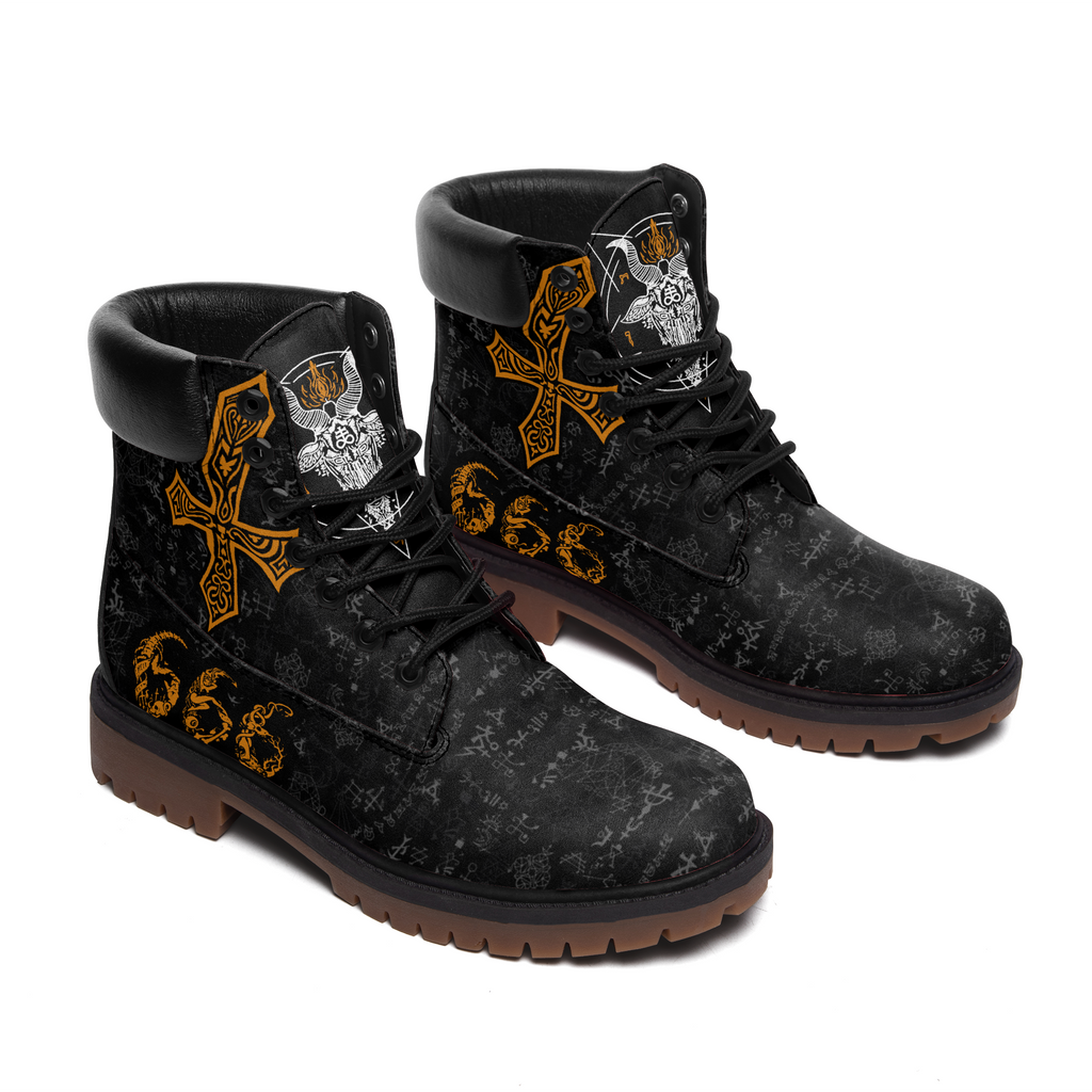 Satanic 666 All Season Boots (MEN)