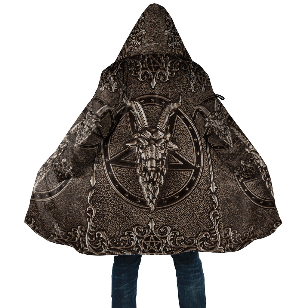Vintage Goat Head Dream Cloak With Bag