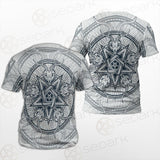 Goat Skulls And Star Rays SDN-1015 Unisex T-shirt