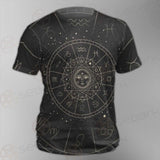 Vector Illustration Set Of Moon Phases SDN-1018 Unisex T-shirt
