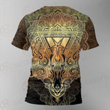 Pentagram Sign Head Of Demon Baphomet SDN-1024 Unisex T-shirt