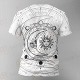 Circle Of A Phase Of The Moon SDN-1025 Unisex T-shirt