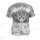 Dreamcatcher With Four Eyed Cat SDN-1087 Unisex T-shirt